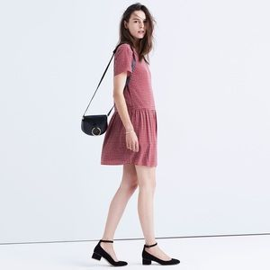 MADEWELL Silk Ascot Tile Dress